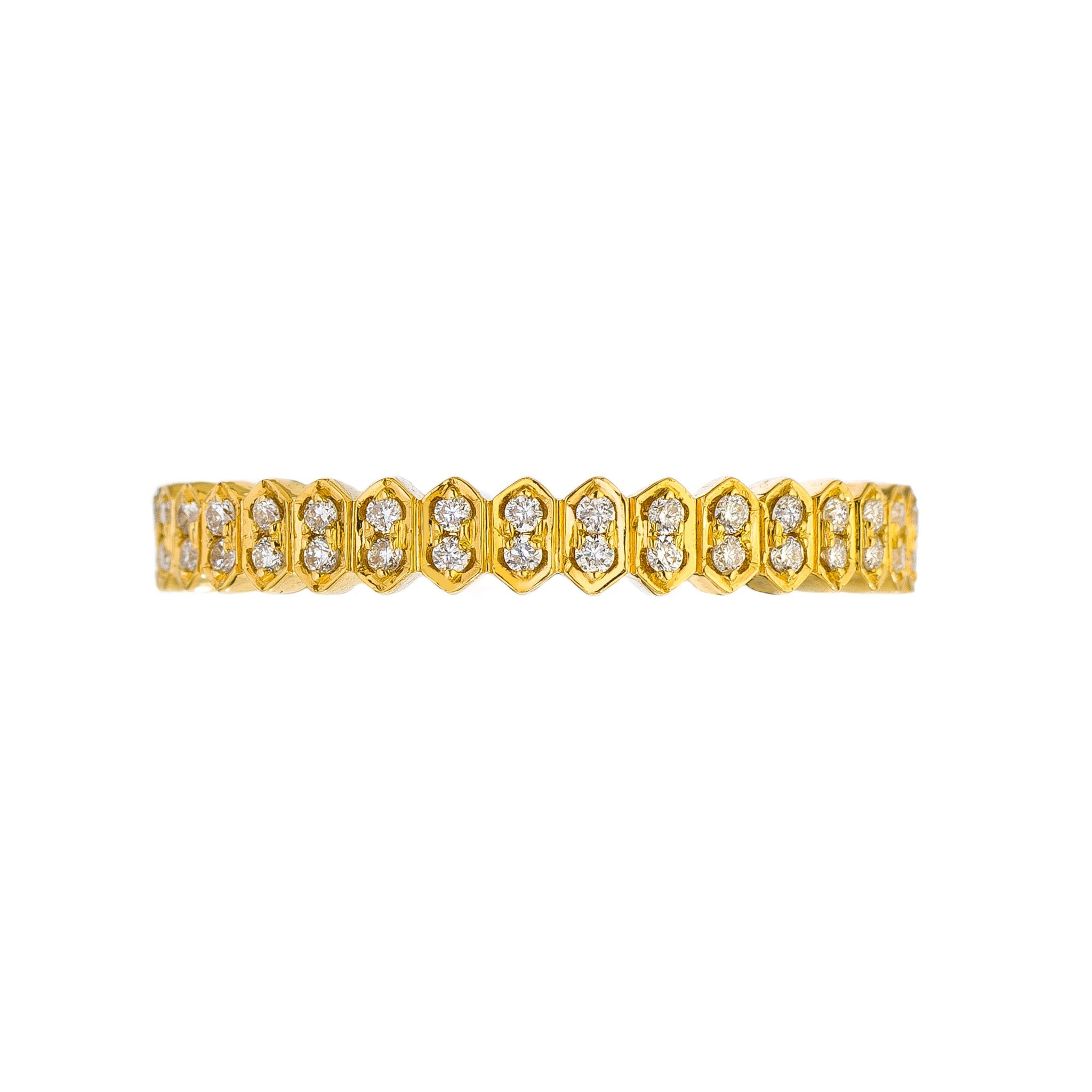 Mini Abacus Diamond Band
