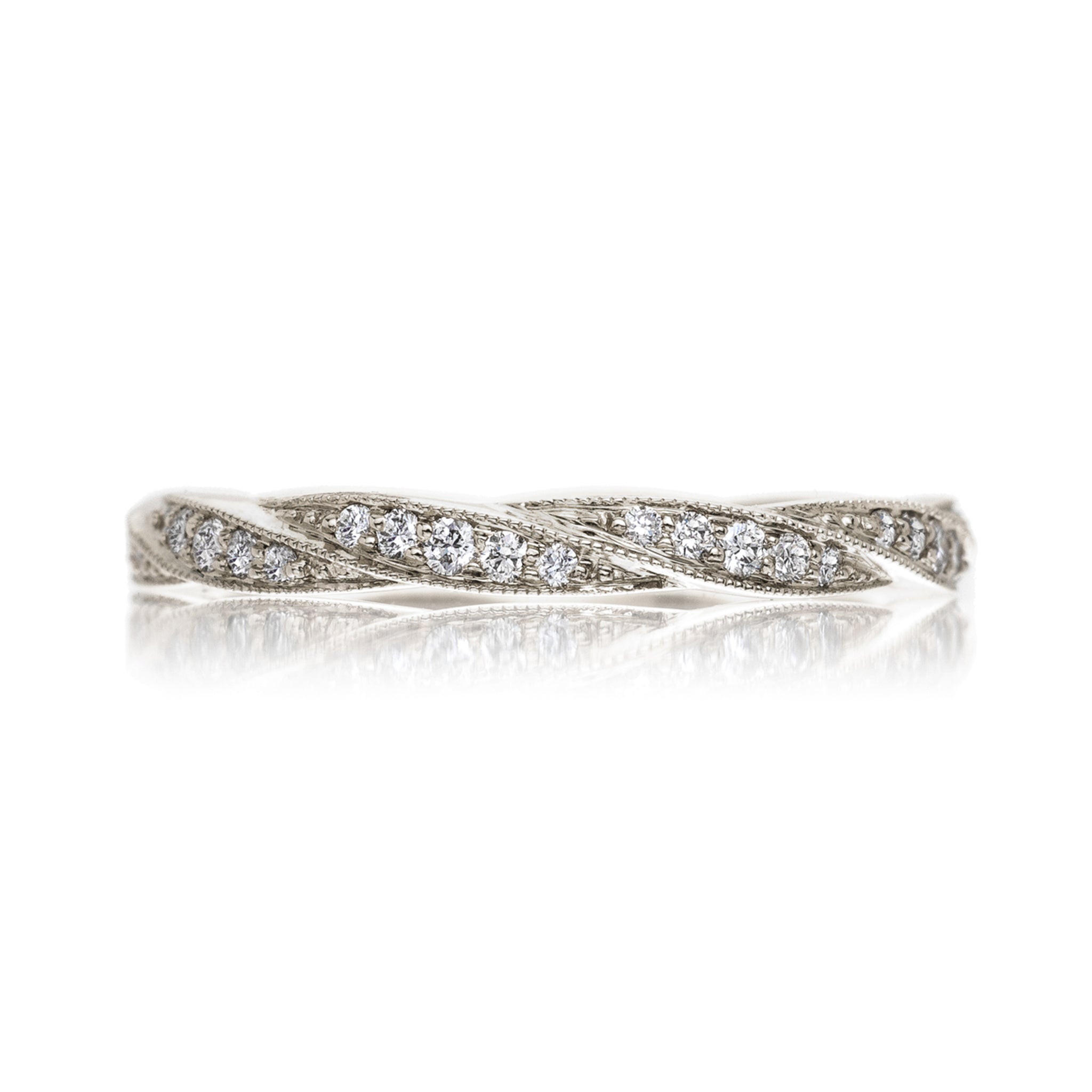 Twine Diamond Band