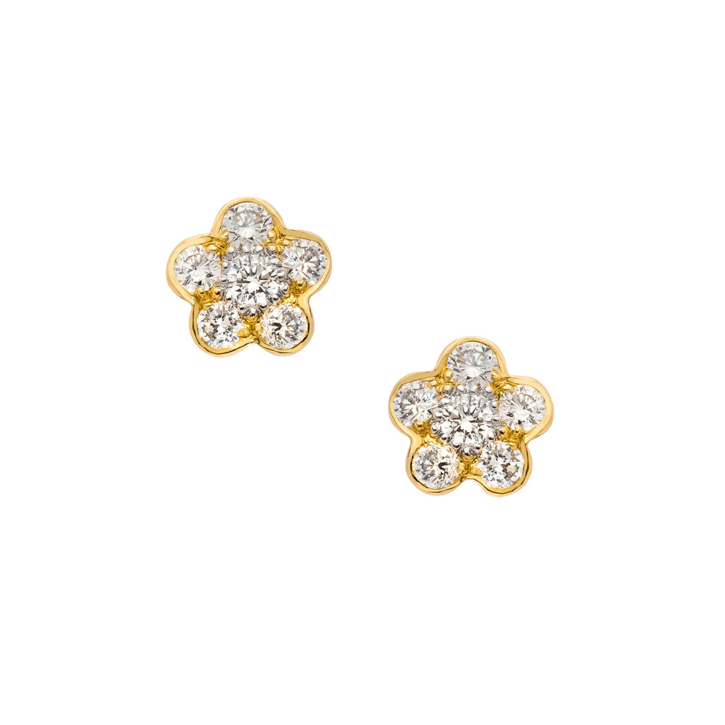 Tuilerie Diamond Stud Earrings