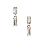 The Petit Baguette Drop Earrings