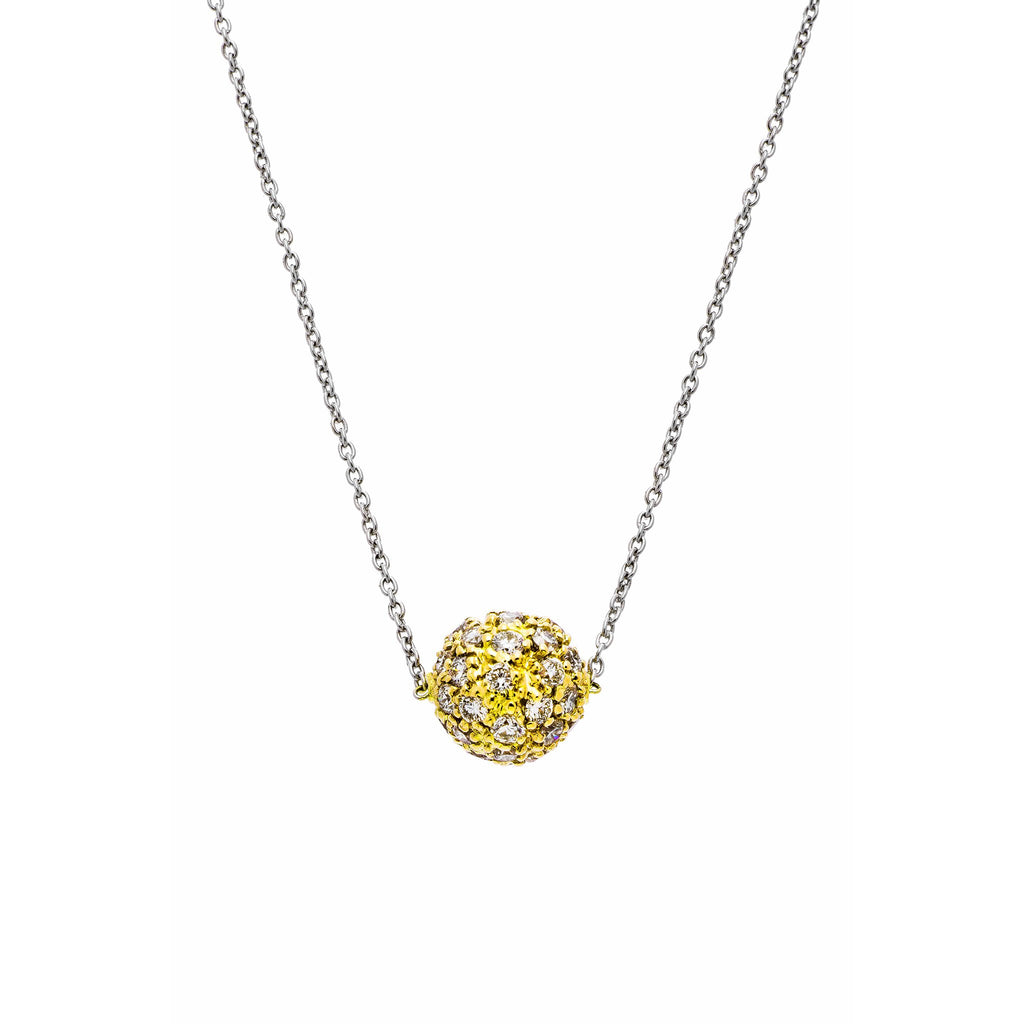 Disco Diamond Pavé Necklace