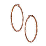 The Simple Elegance Large Hoops