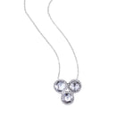 Grace Rose Cut Diamond Necklace