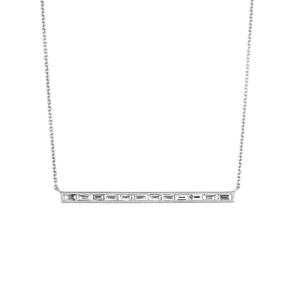 The Silhouette Bar Necklace