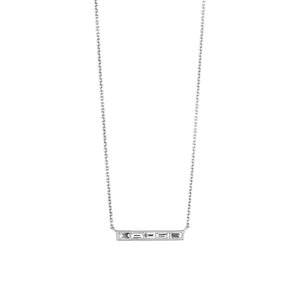 The Silhouette Necklace 5 Stone