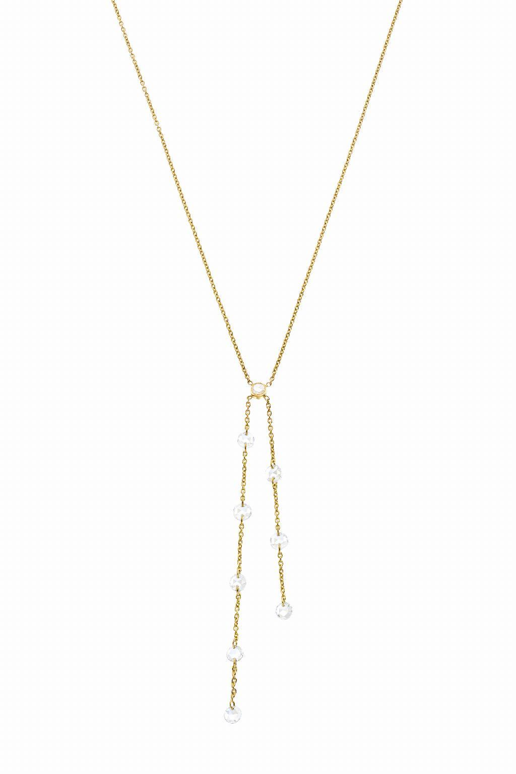 The Cien Double Lariat Necklace