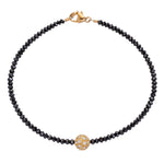 Disco Black Diamond Bracelet