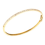 The Silhouette Bangle 18K Yellow Gold