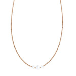 The Cien 3 Stone Necklace