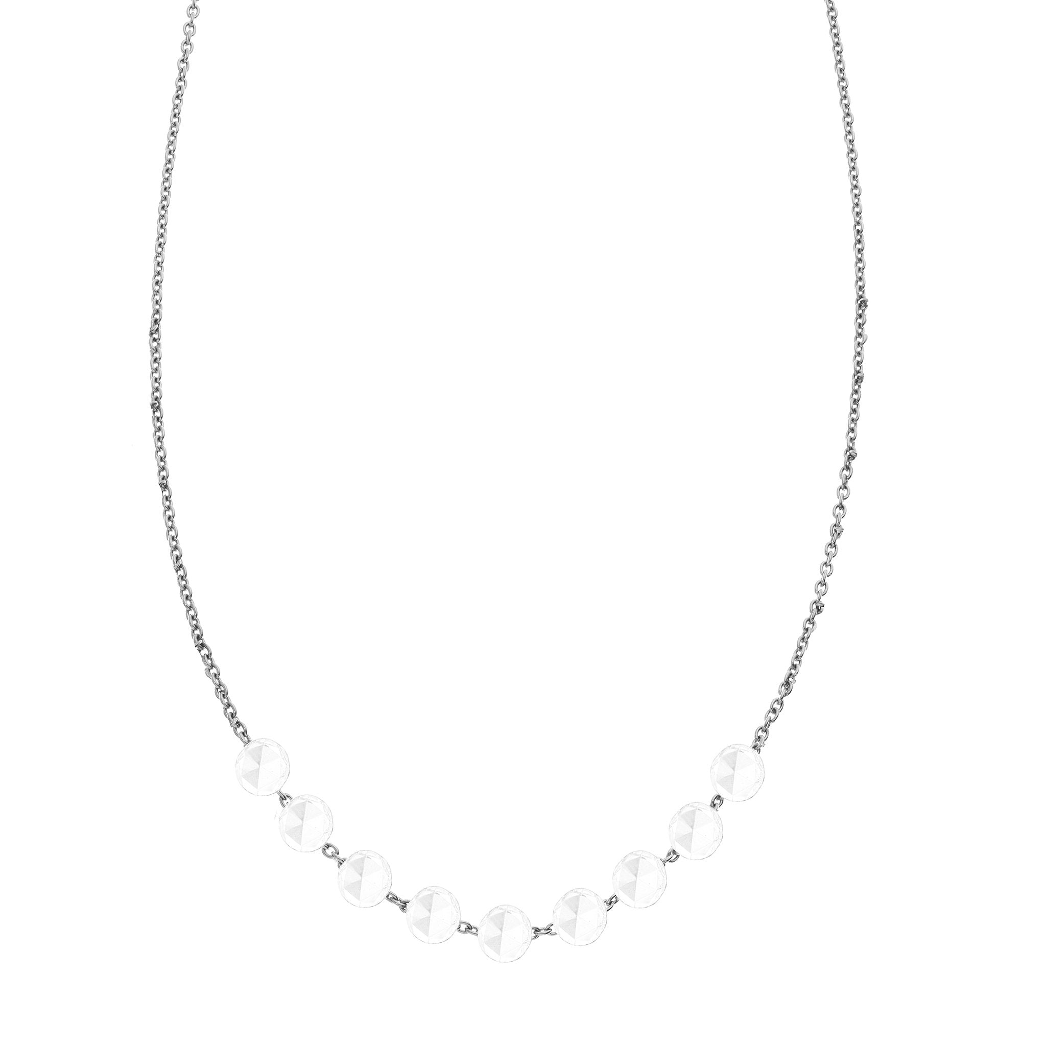 The Cien 9 Stone Necklace