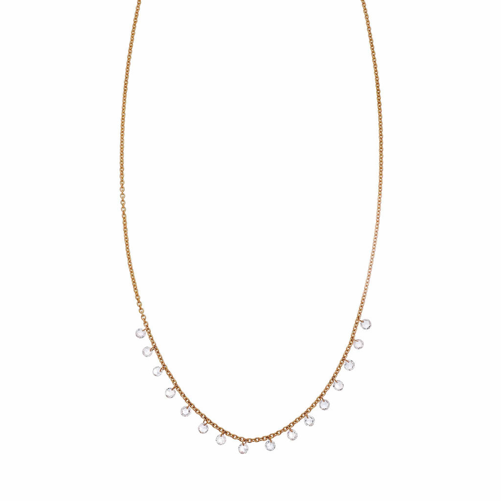 The Cien Long Drop Necklace