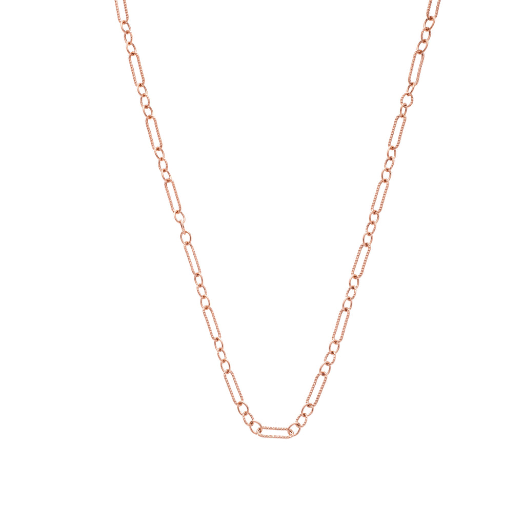 The Figaro Chain 18K Rose Gold