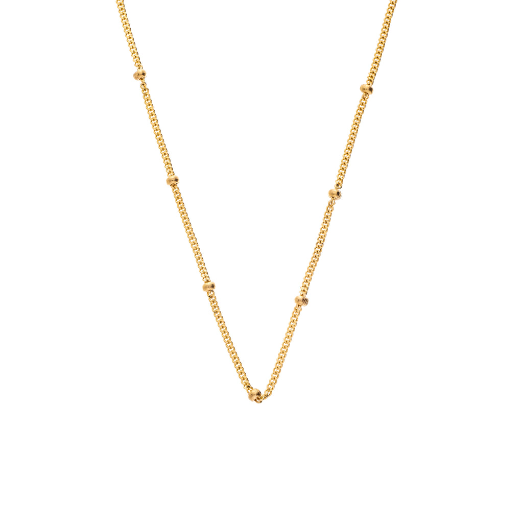 The Bead Chain 18K Yellow Gold