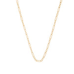 The Figaro Chain 18K Yellow Gold