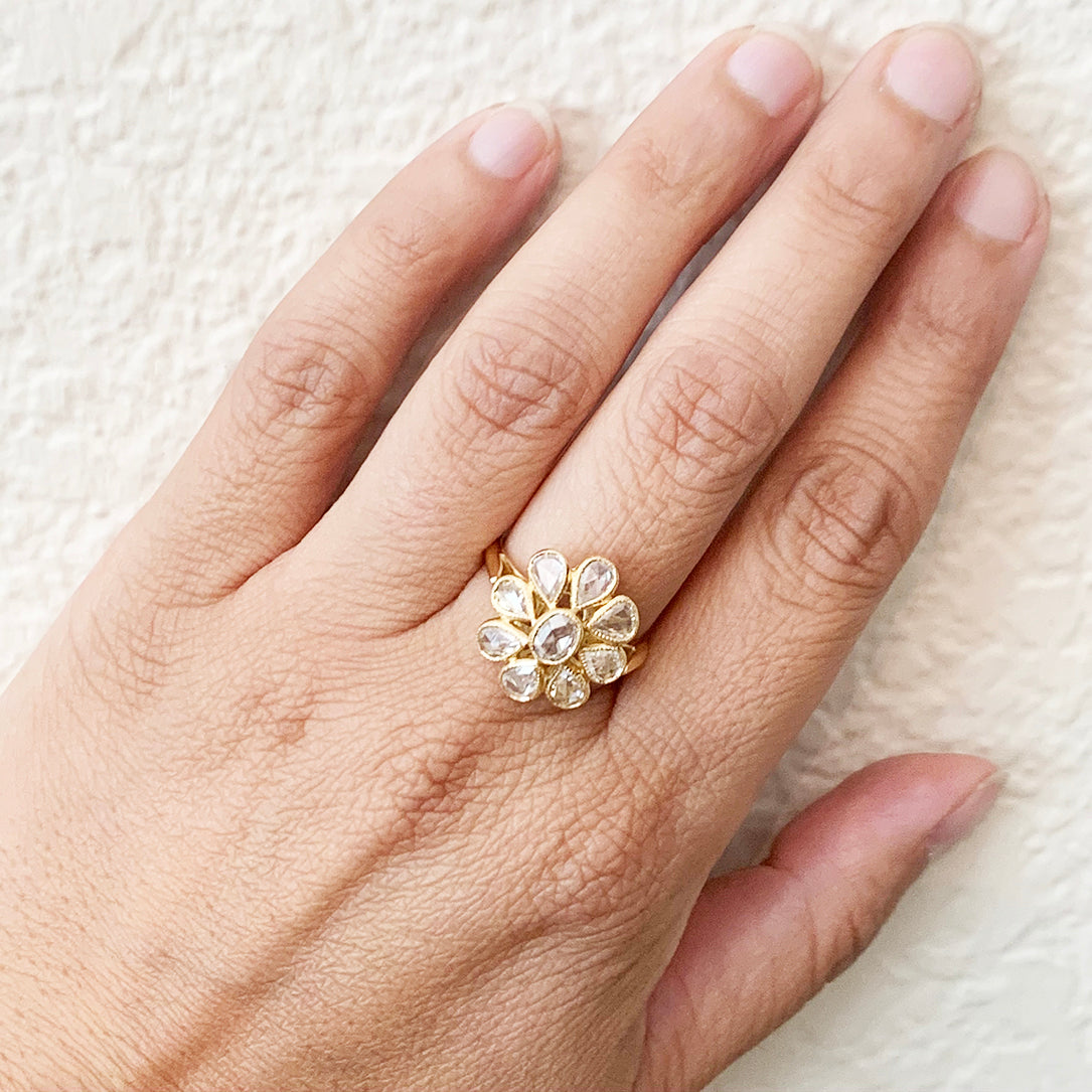 The Heritage Cocktail Ring