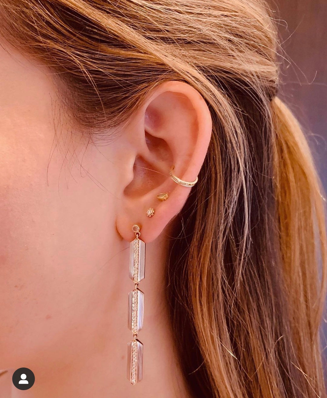 The Maya Long Earrings