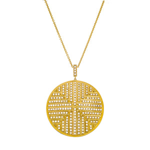 The Stella Medallion Necklace