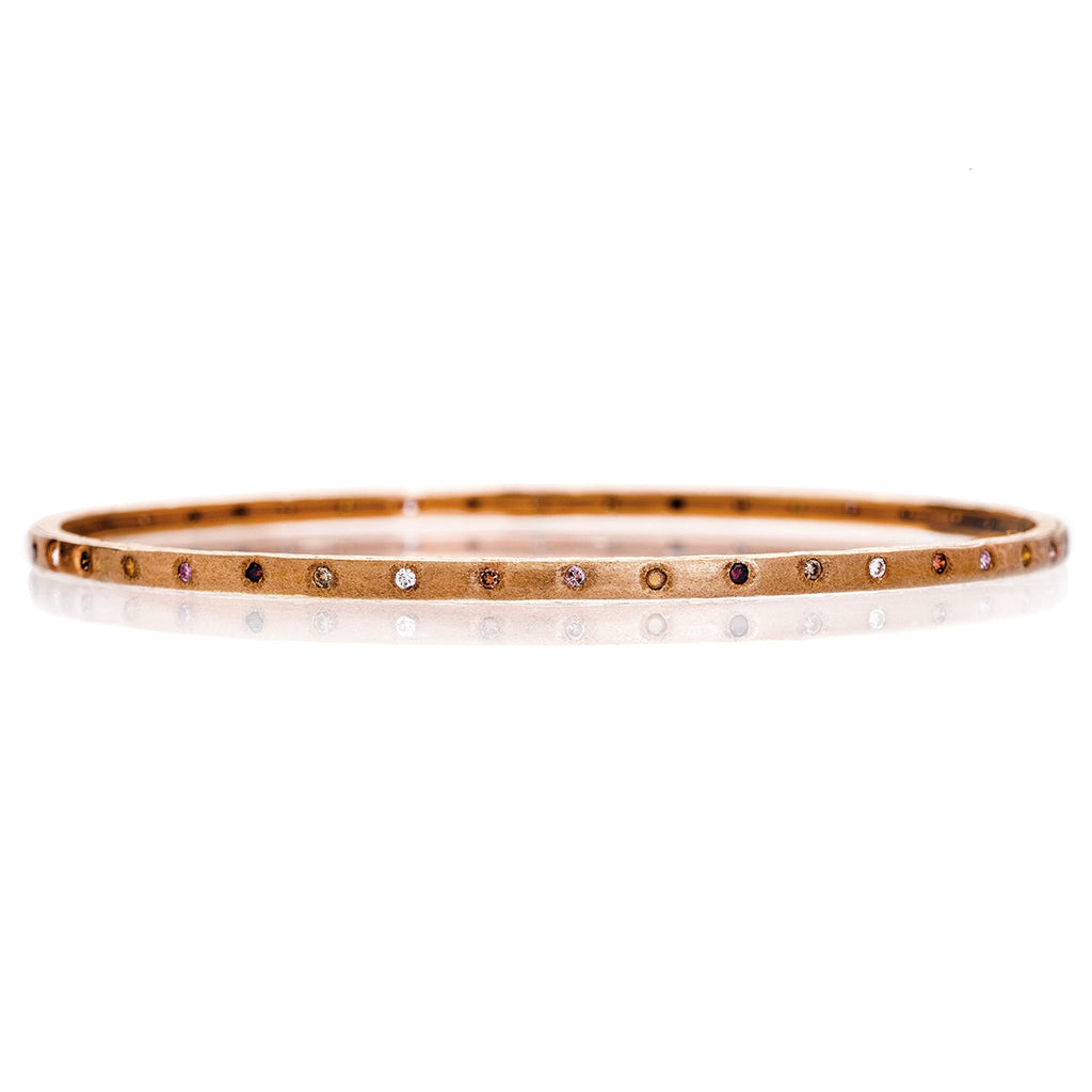 Dunes Multi-Color Diamond Bangle