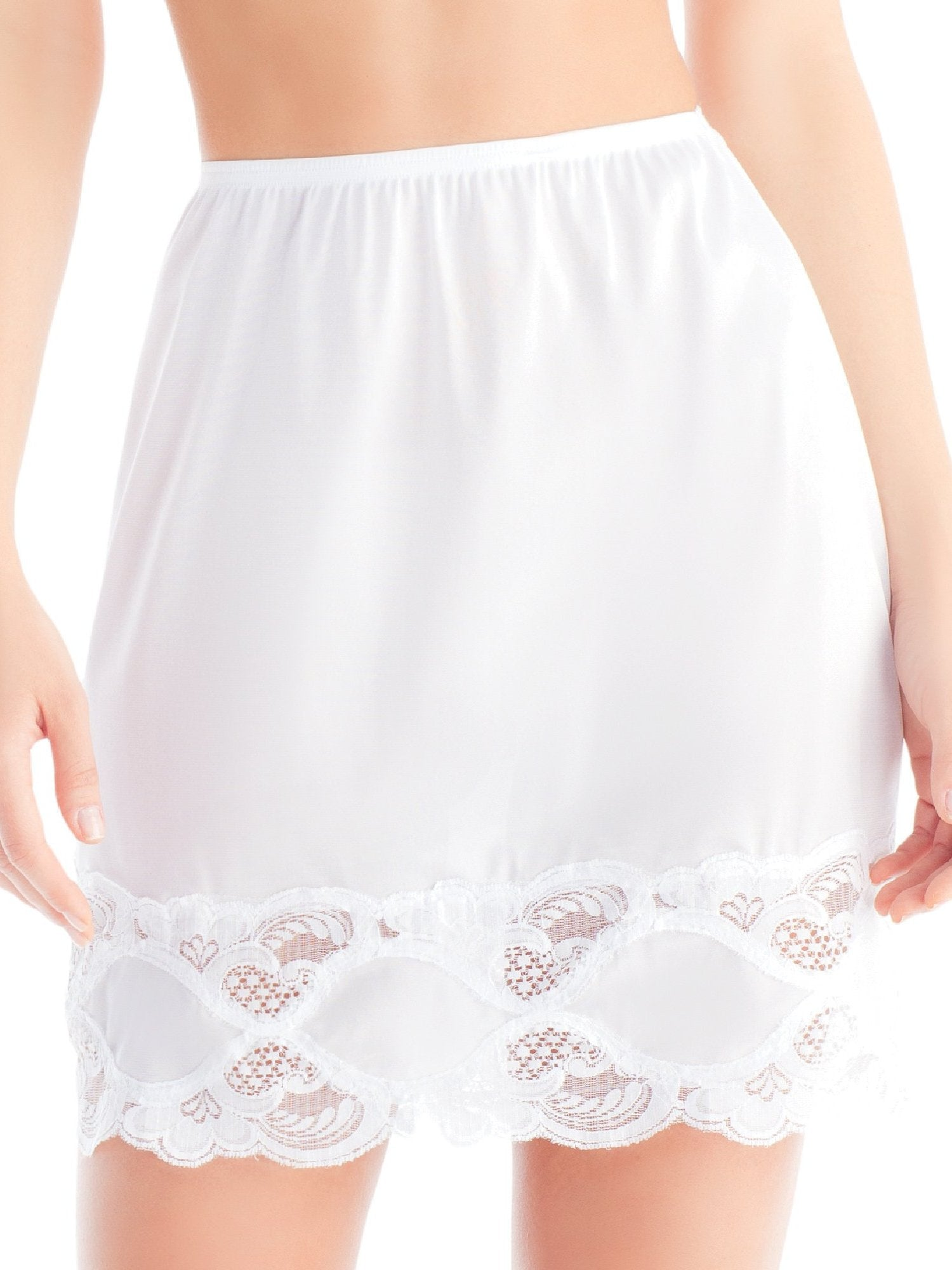 Lace Half Skirt Slip 1017