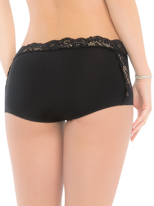 Stretch Lace High Rise Panty 1192