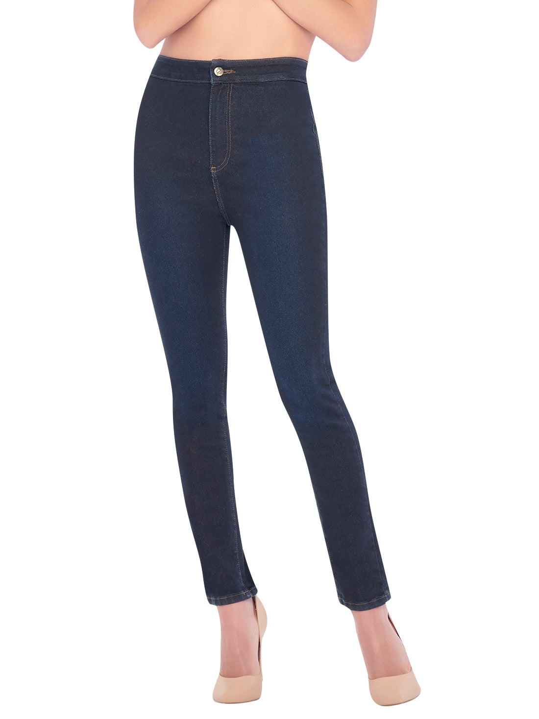 High-Rise Jeans 45609