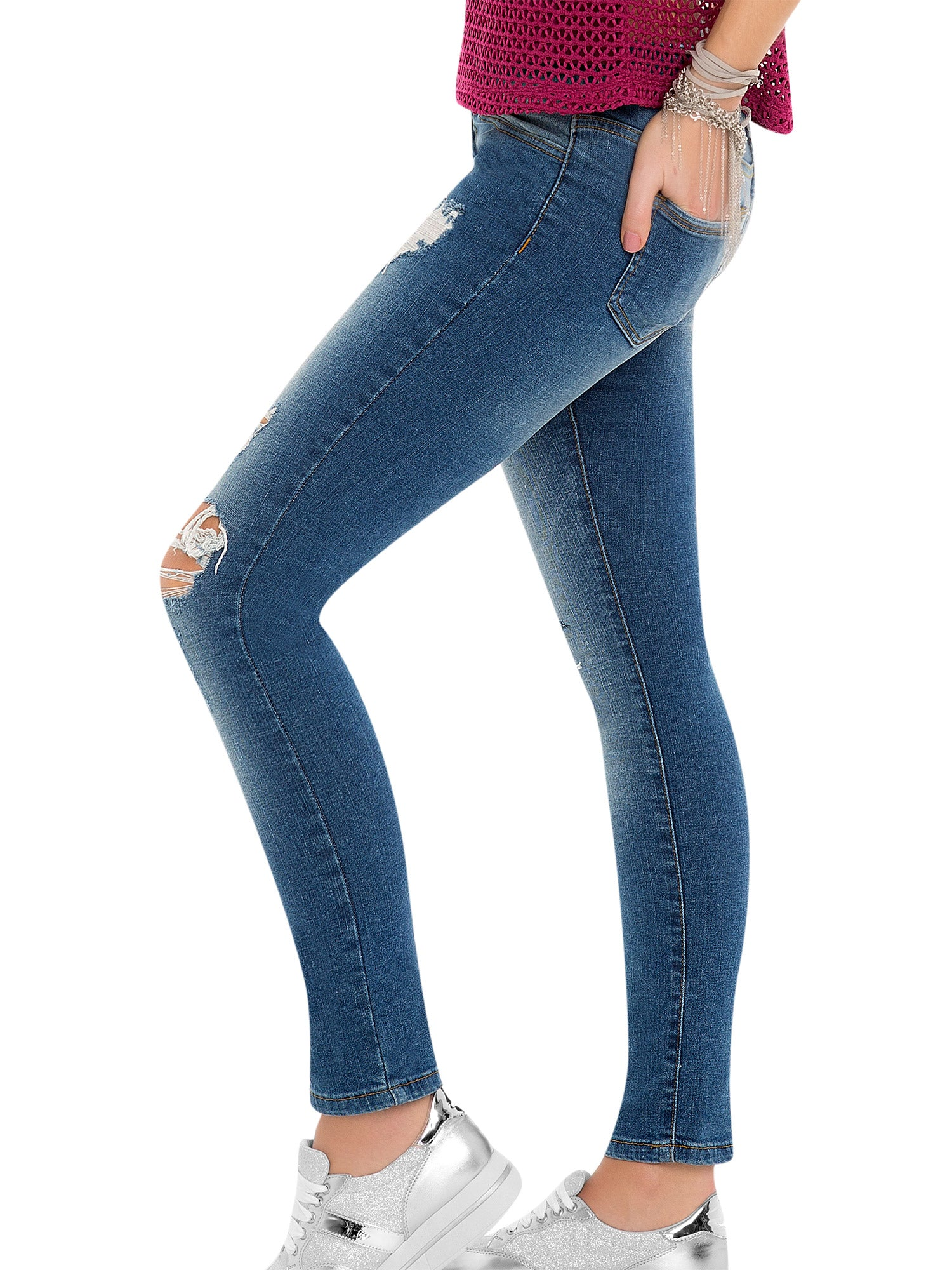 Distressed Jeans 45226
