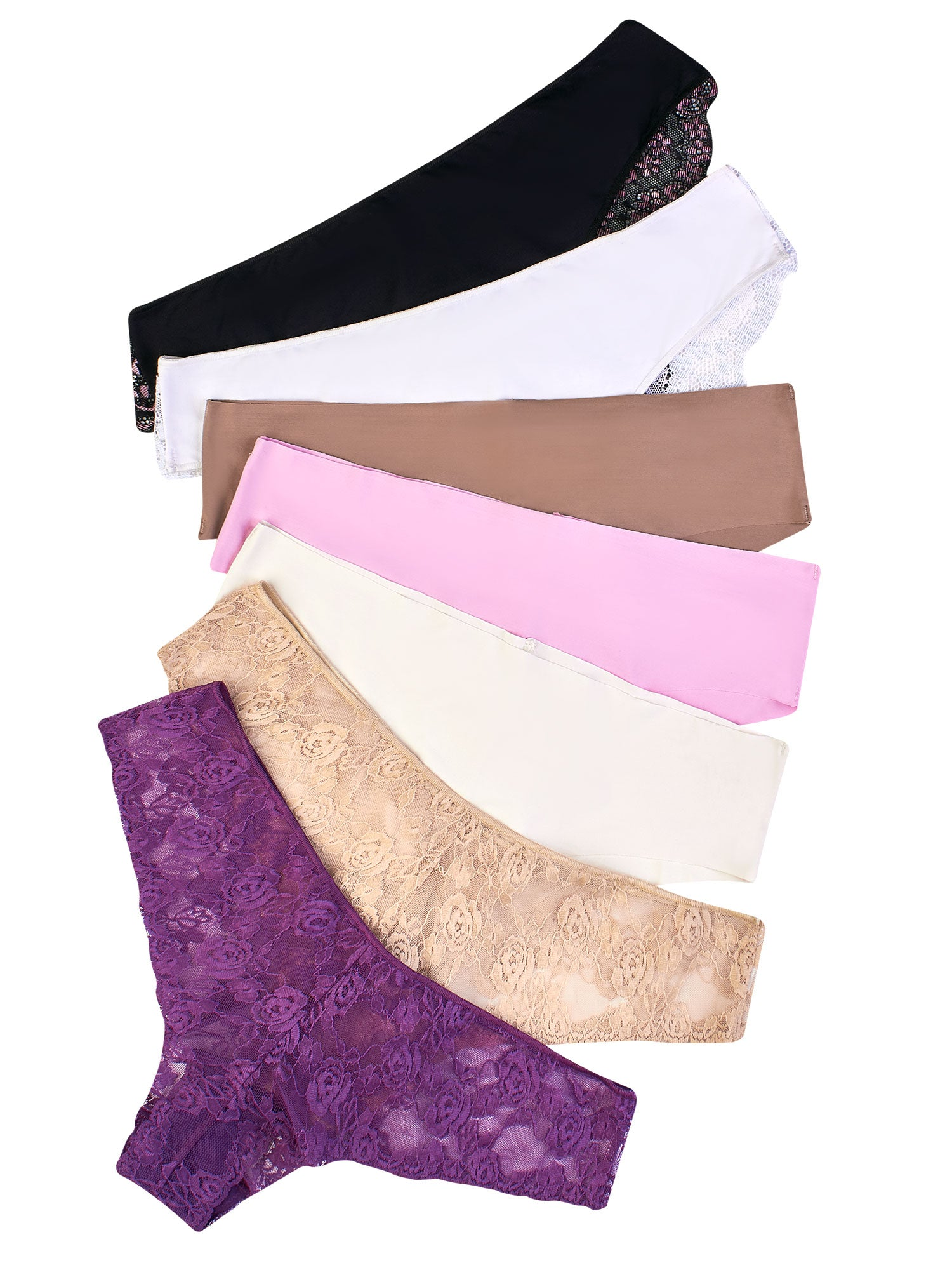 Surprise Silhouette 7 Panty Pack 71379