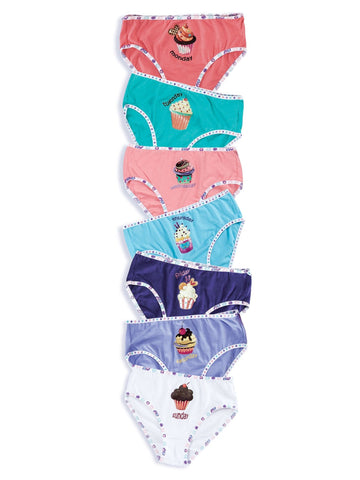 Girls Lucky Week 7 Pack Undies 73100