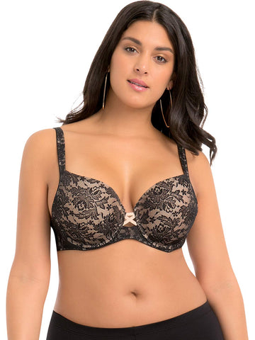 Lace Push-up Bra 7308