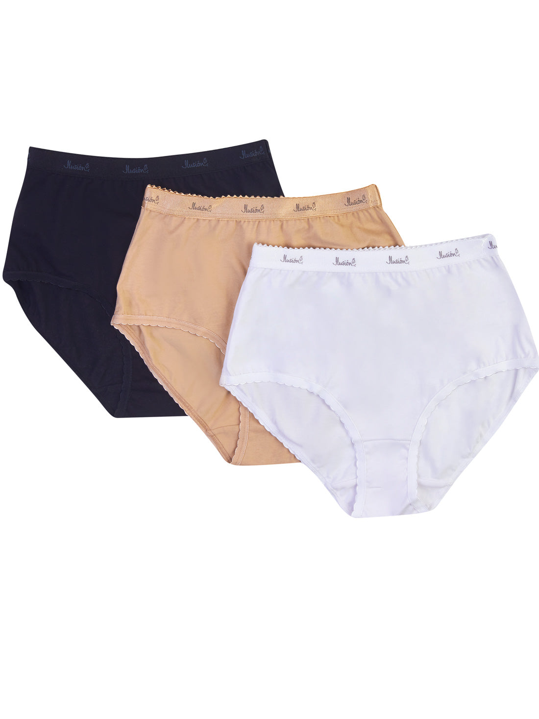 3Pack | High Rise Cotton Brief 31342