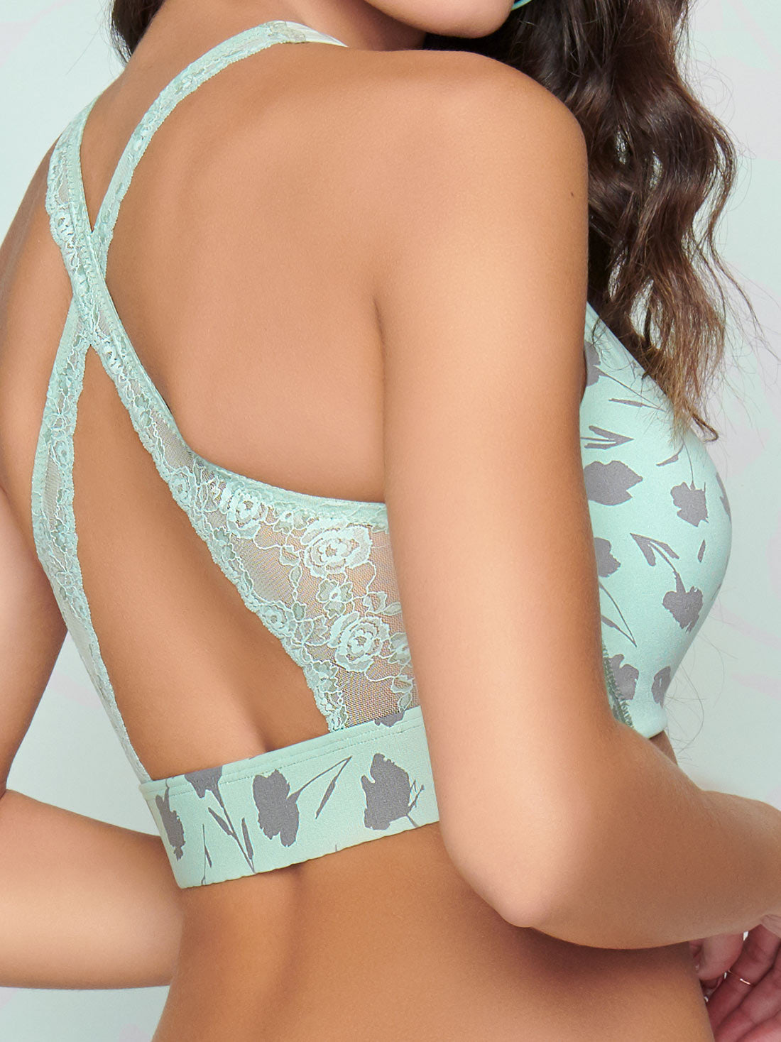 No Wire Crossover Bra 7965