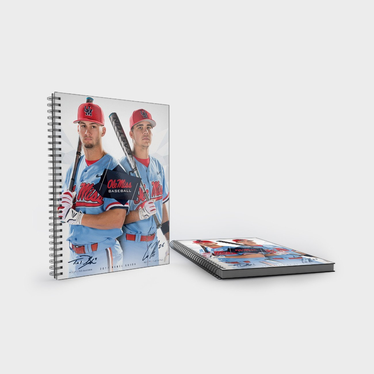 Ole Miss Rebels - 2017 Baseball Media Guide - College Wall Art #Media Guides