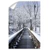 Winter Bridge - College Wall Art#Wall Decal