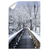 Winter Bridge - College Wall Art#Canvas