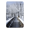 Winter Bridge - College Wall Art#PVC