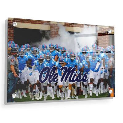 Ole Miss Rebels - Powder Blue #Acrylic