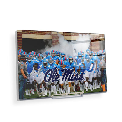 Ole Miss Rebels - Powder Blue #Acrylic Mini