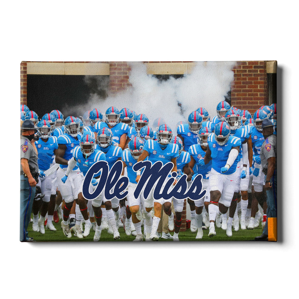 Ole Miss Rebels - Powder Blue