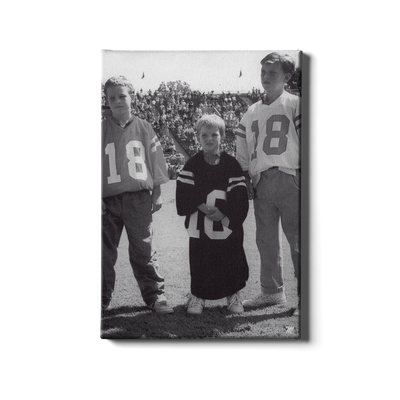 Ole Miss Rebels - Vintage Cooper Peyton Eli Archie Manning Day - College Wall Art #Canvas