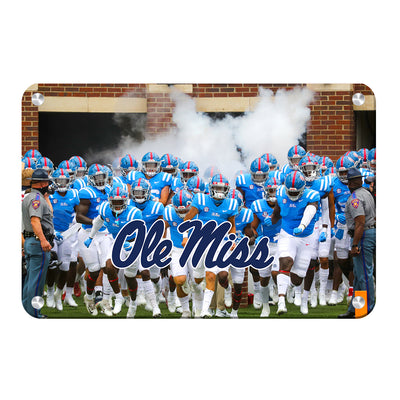Ole Miss Rebels - Powder Blue #Metal