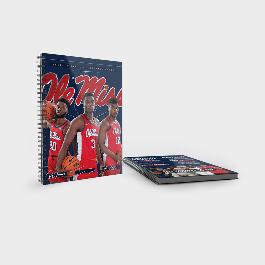 Ole Miss Rebels - 2018 Men's Basketball Media Guide