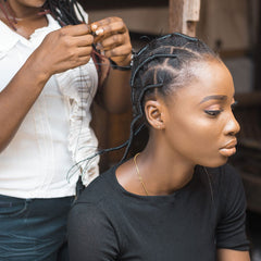 African Hair Stretching Rubber