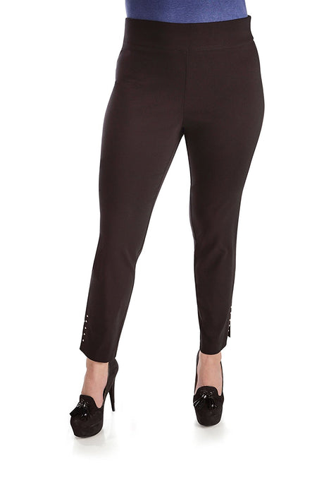 Pull On Comfort Slim Career Pant