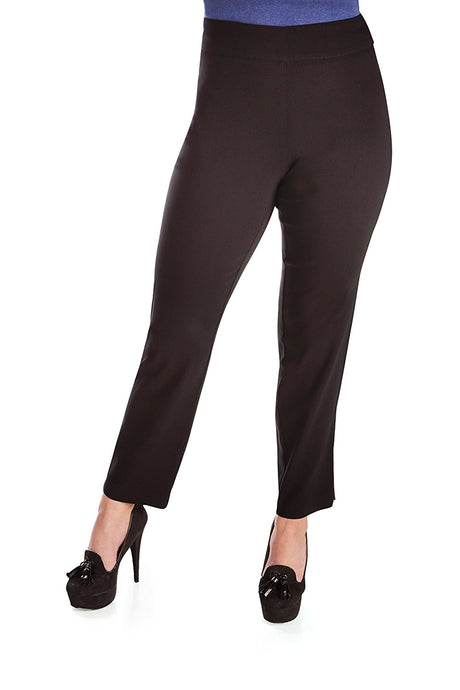 Pull On Comfort Slim Ankle Pant with Tummy Control