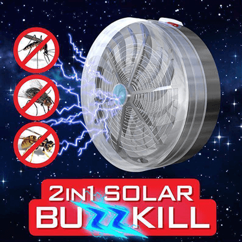 Solar Powered Buzz UV Lamp