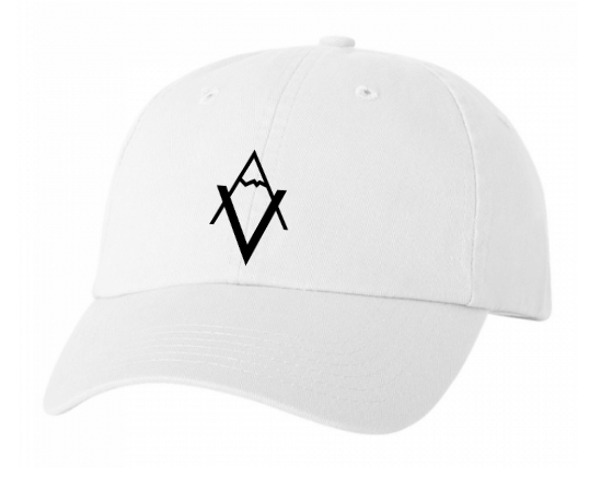 White Dad Hat VA