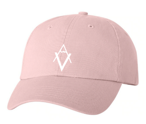 Light Pink Dad Hat VA