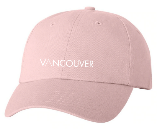 Light Pink Dad Hat Vancouver