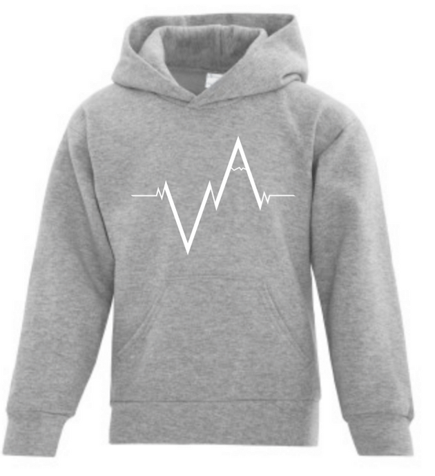 The Youth Hoodie, Heartbeat | Unisex | Vancouver Apparel