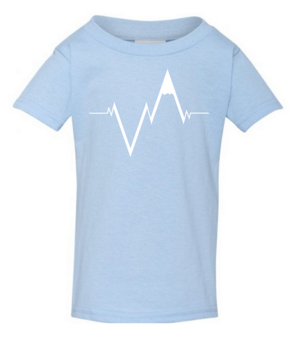 The Toddler Tee. // Heartbeat.